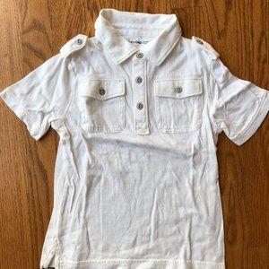 Like New GAP short sleeve polo boys size 5